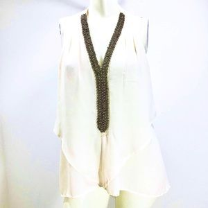 Cupid Beaded Front Tunic
